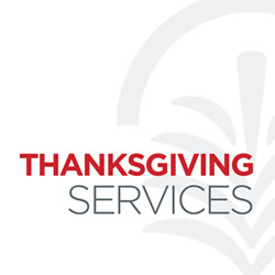 Thanksgiving Services