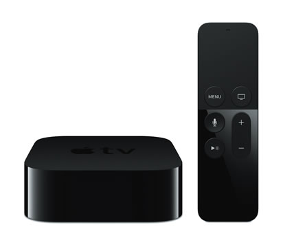 Screenshot of AppleTV